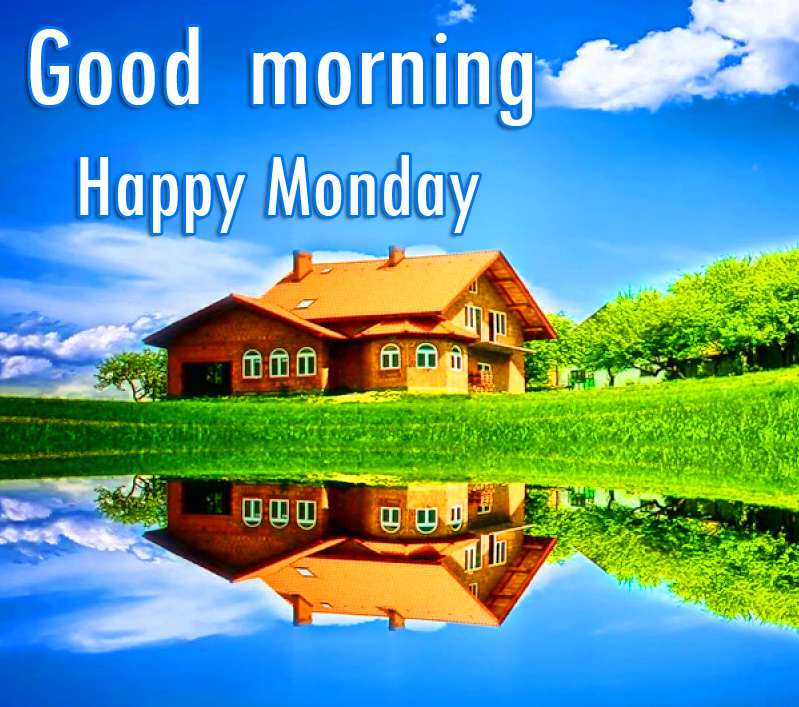 Scenery Good Morning Happy Monday Wallpaper