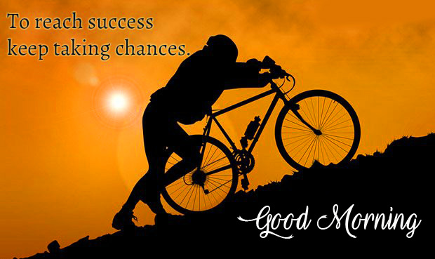 Sucess Good Morning Quote Picture