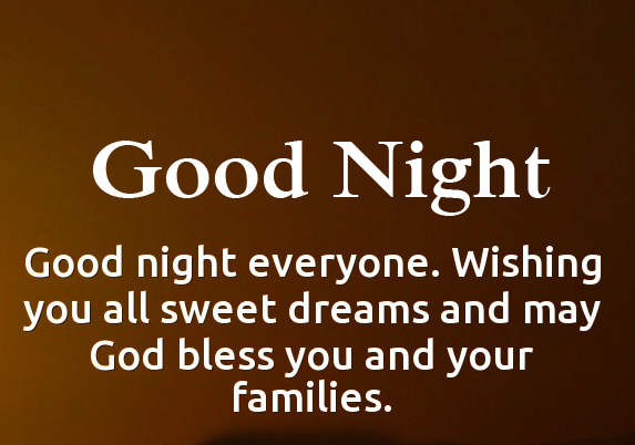 Sweet Blessing Quote Good Night Picture HD