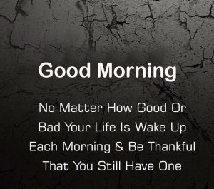 Thankful Latest Quote Good Morning Image