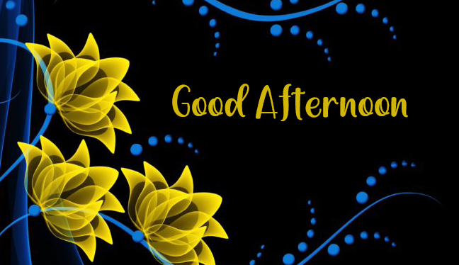 Abstract Background Colorful Colors Glowing Wallpapers Art Flowers Yellow Good Afternoon Image
