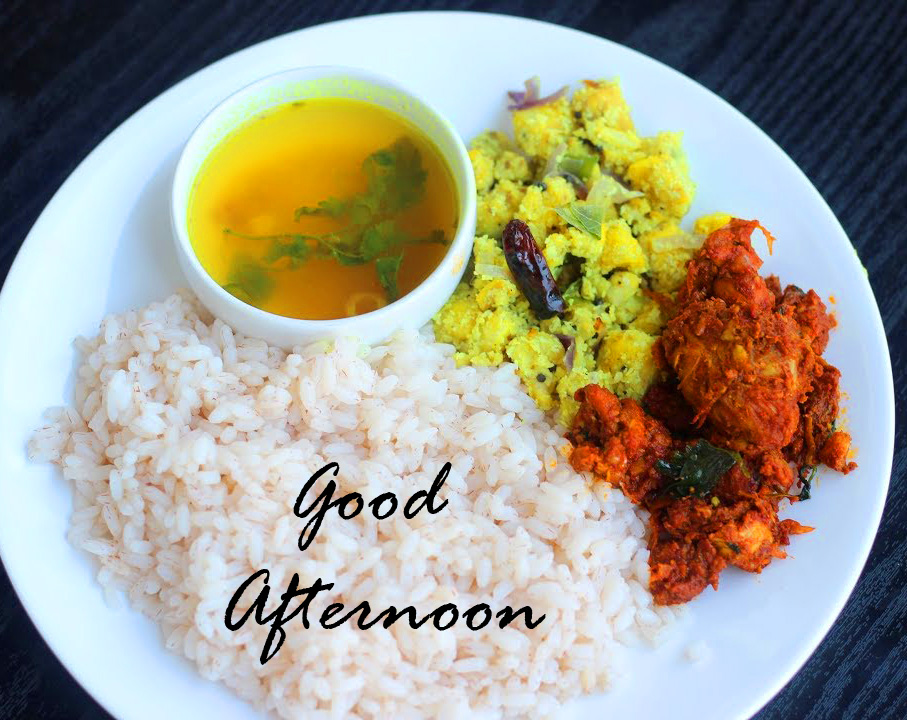 Best Indian Lunch Good Afternoon Image