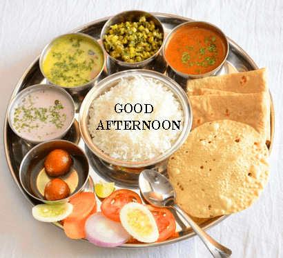 Best Lunch Good Afternoon Wallpaper