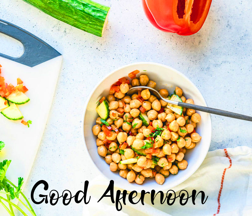 Chick Peas Lunch Good Afternoon Image