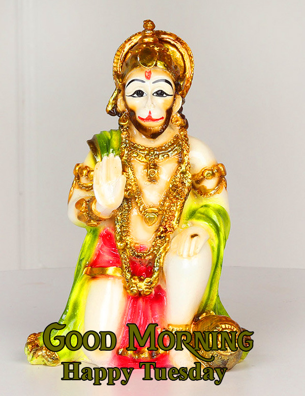 God Hanuman Ji Good Morning Happy Tuesday Picture HD
