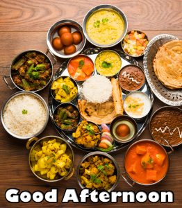 Good Afternoon Indian Lunch Image HD