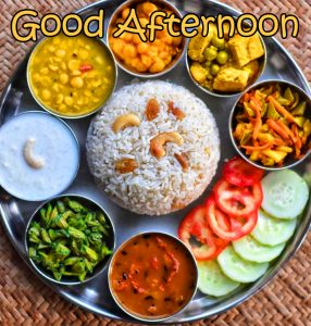 Good Afternoon Lunch Indian Image