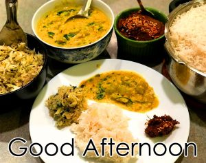 Good Afternoon Lunch Wish Image