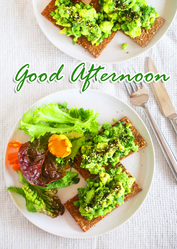 Good Afternoon Salad Lunch Picture