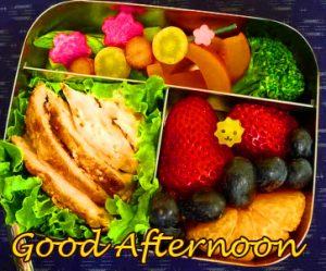 Good Afternoon Wish with Lunch