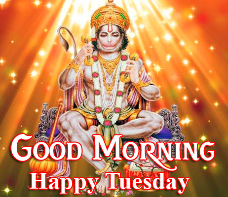 Good Morning Happy Tuesday God Hanuman Ji Picture HD