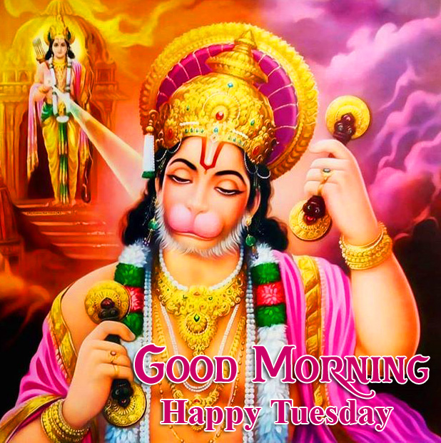 Good Morning Happy Tuesday Hanuman Ji Latest Image