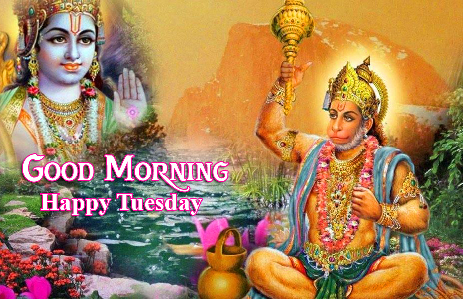 Good Morning Happy Tuesday Latest Hanuman Ji Wallpaper