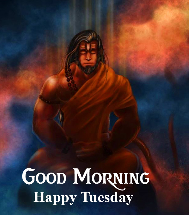 Good Morning Happy Tuesday Lord Hanuman Ji Picture HD