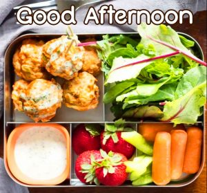 Healthy Lunch Good Afternoon Picture