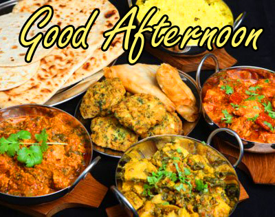 Indian Food Lunch Good Afternoon Image