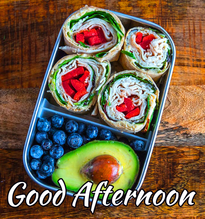 Lunch Fruits Good Afternoon Image