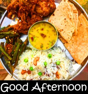 Lunch HD Good Afternoon Pic