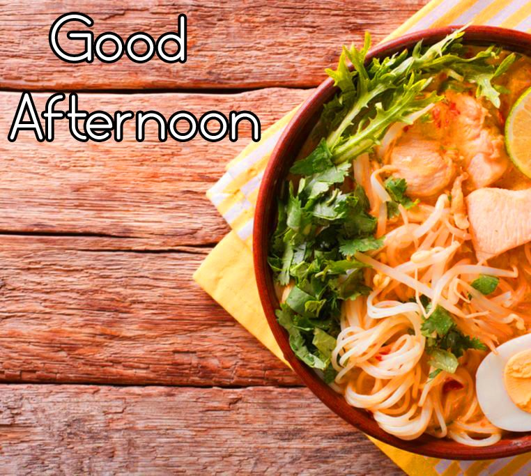 Lunch HD Good Afternoon Wallpaper