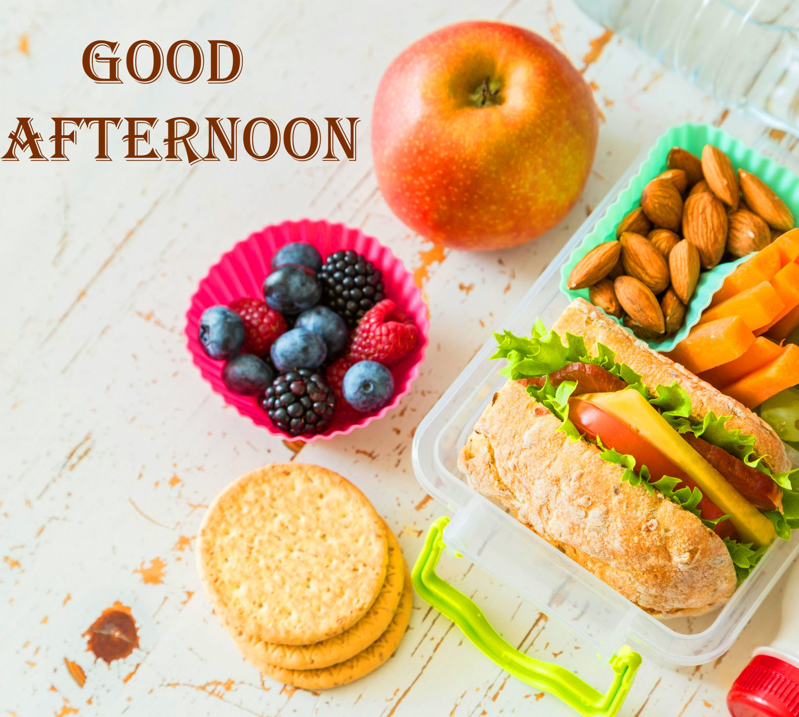 School Lunch Good Afternoon Photo