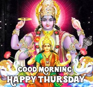 Good Morning Happy Thursday vishnu ji hd