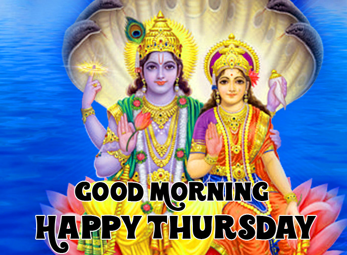Good Morning Happy Thursday vishnu ji hd pics