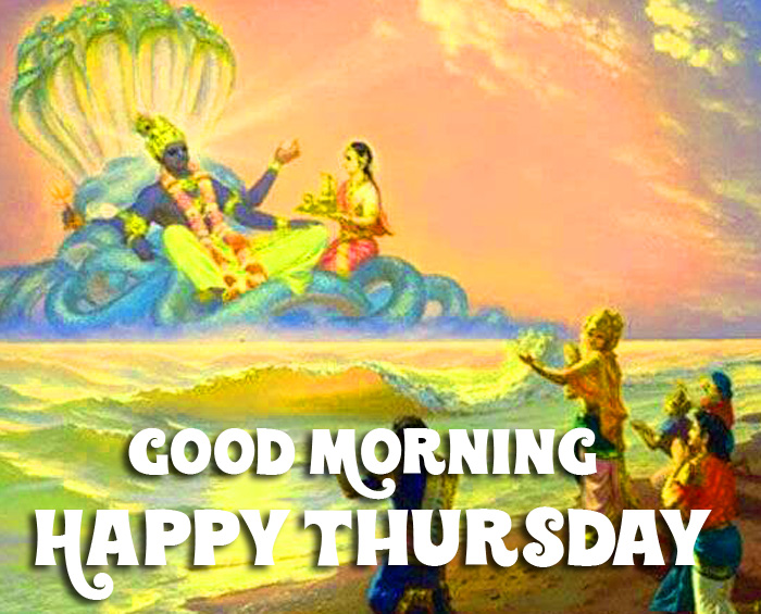 Good Morning Happy Thursday vishnu ji images