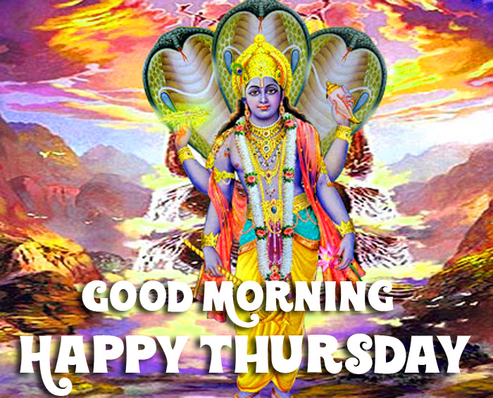 Good Morning Happy Thursday vishnu ji photo