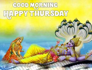 Good Morning Happy Thursday vishnu ji pics hd