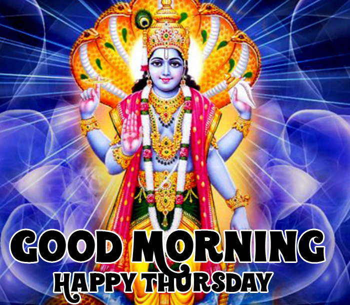 Good Morning Happy Thursday vishnu ji pics