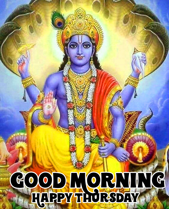 best bhagwan Good Morning Happy Thursday vishnu ji hd