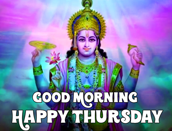 best god Good Morning Happy Thursday vishnu ji photo