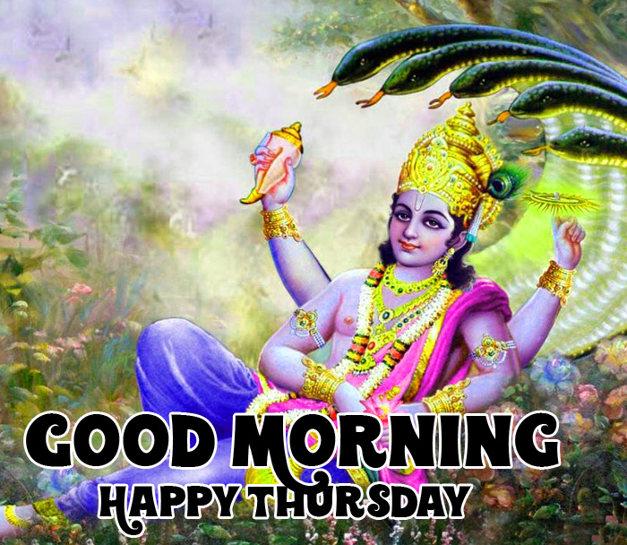 best god vishnu ji Good Morning Happy Thursday hd pics