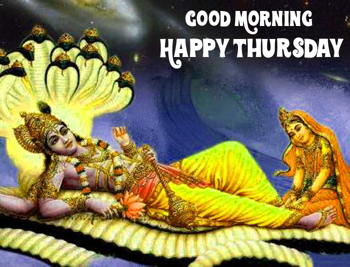 best lord Good Morning Happy Thursday vishnu ji images hd