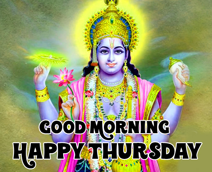 best lord Good Morning Happy Thursday vishnu ji photo