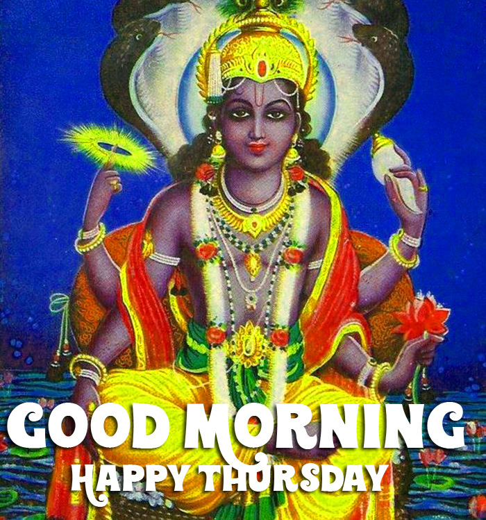 best vishnu ji Good Morning Happy Thursday hd