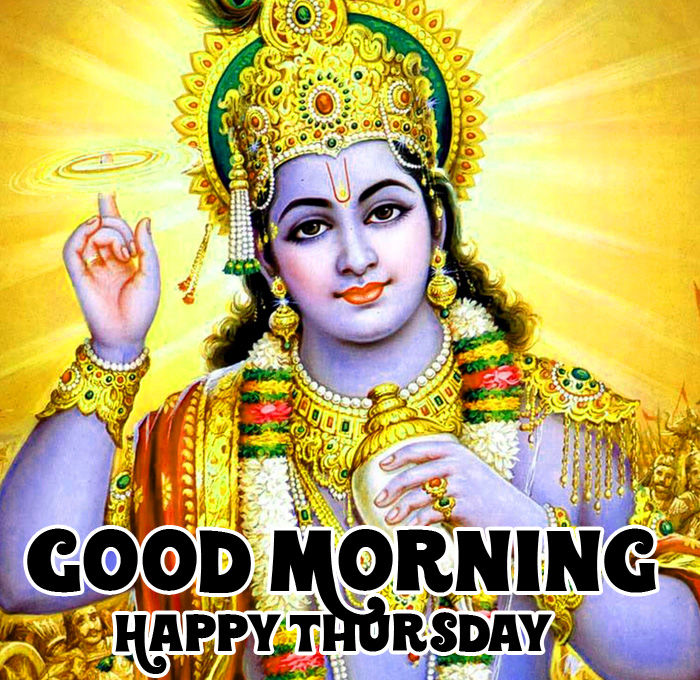 bhagwan Good Morning Happy Thursday vishnu ji images hd