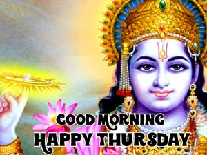 god Good Morning Happy Thursday vishnu ji images hd