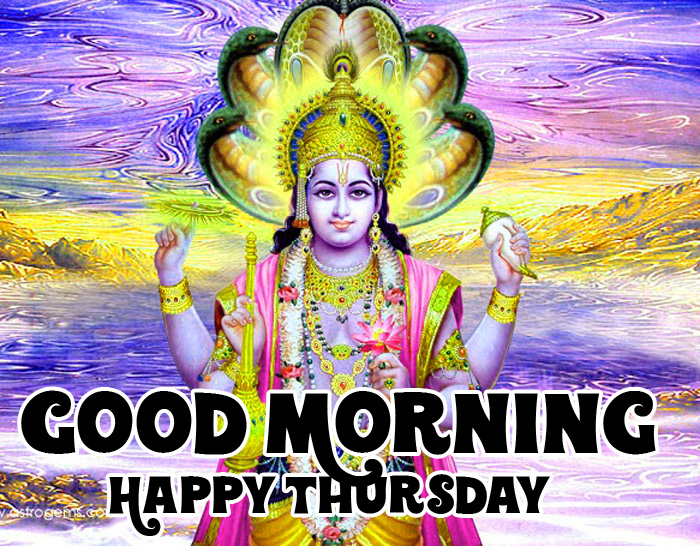 god vishnu ji Good Morning Happy Thursday images hd