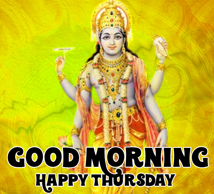 latest Good Morning Happy Thursday vishnu ji hd