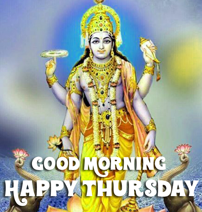latest lord Good Morning Happy Thursday vishnu ji photo