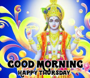 latest vishnu ji Good Morning Happy Thursday hd wallpaper