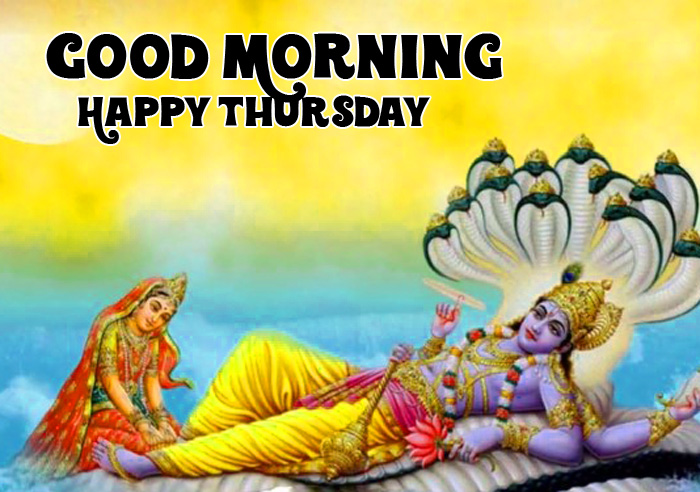 latest vishnu ji Good Morning Happy Thursday pics hd