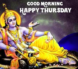 lord Good Morning Happy Thursday vishnu ji images hd