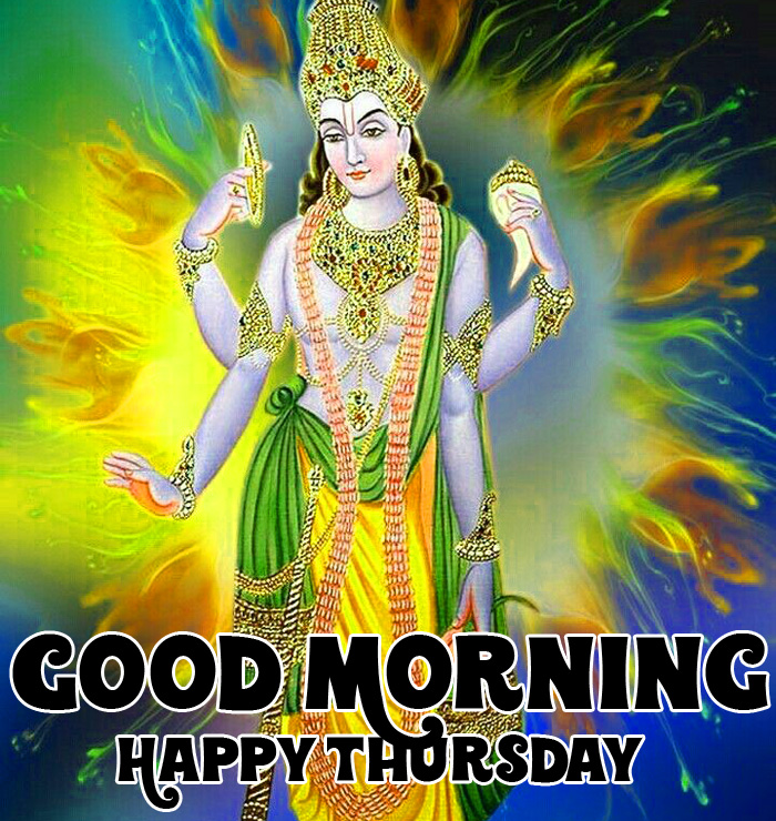 nice vishnu ji Good Morning Happy Thursday hd