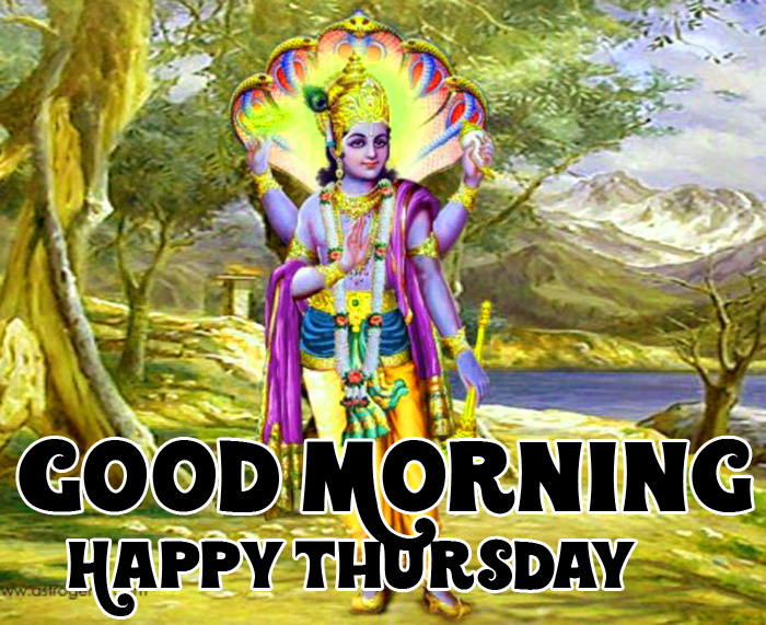 vishnu ji Good Morning Happy Thursday bhagwan images
