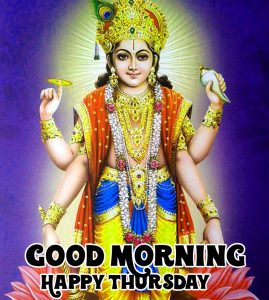 vishnu ji Good Morning Happy Thursday hd picture