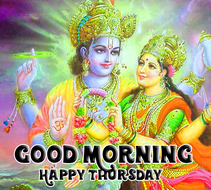 vishnu ji Good Morning Happy Thursday hd