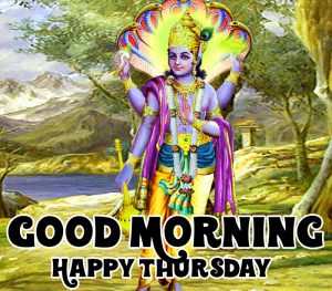 vishnu ji Good Morning Happy Thursday images