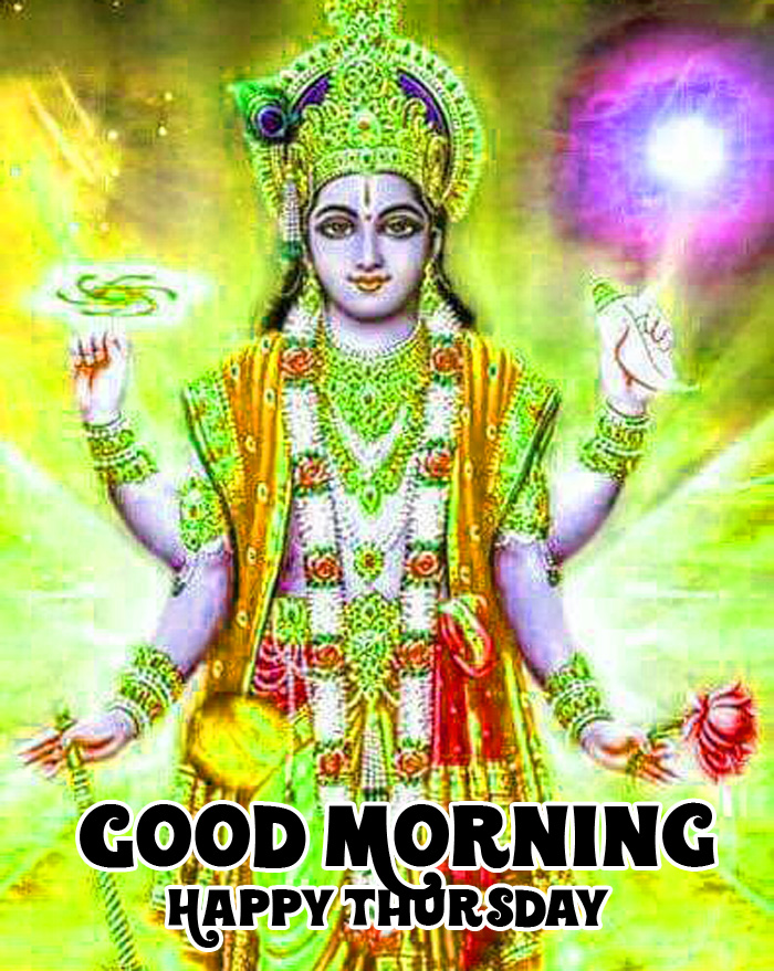 vishnu ji Good Morning Happy Thursday images hd